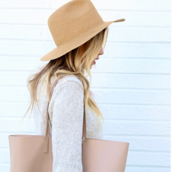 17f7eff216 Madewell Packable Mesa Straw Hat Tan